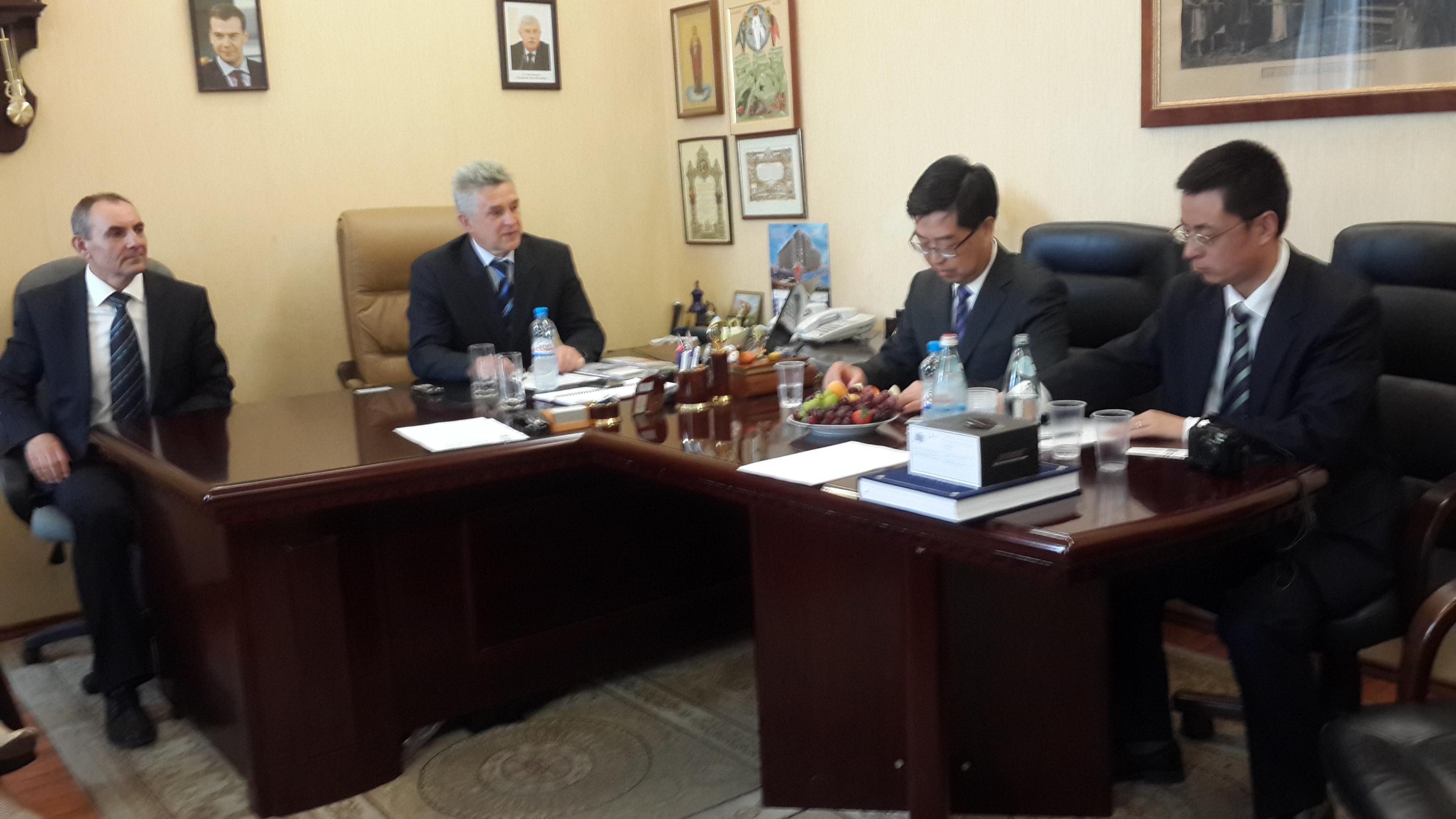 Встреча АПП с консульством КНР