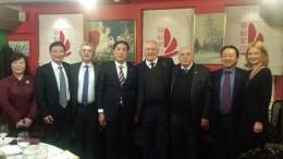 Встреча с Шанхайской делегацией
